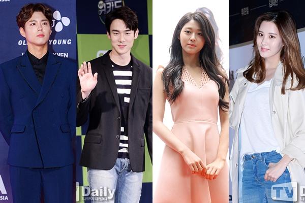 柳演錫、朴寶劍、徐玄、雪炫驚現《Running Man》