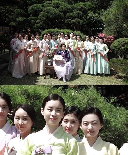 電影《解語花》花絮照公開 韓孝周等美貌照人
