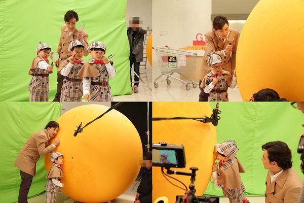 《超人》三胞胎變身小偵探 遇巨型柚子開啟吃貨模式