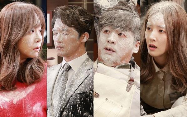 新劇《五個孩子》劇照曝光 眾演員上演麵粉大戰
