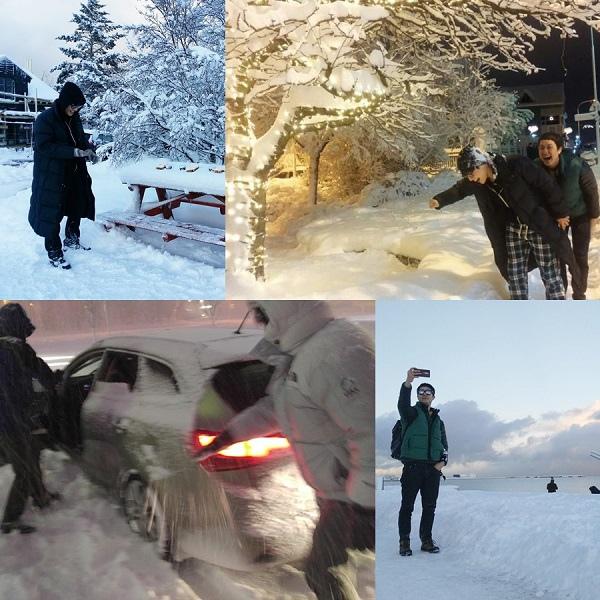 《花樣青春》冰島行巧遇暴雪 苦中作樂熱情未減