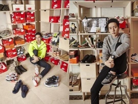 朴海鎮愛好收藏運動鞋 逾千雙價值1億韓元