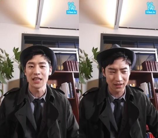 李帝勳做客Vapp談新片 擔心與角色有出入