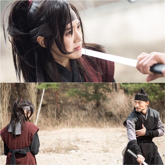 《獄中花》發布新劇照 陳世娫挑戰動作戲