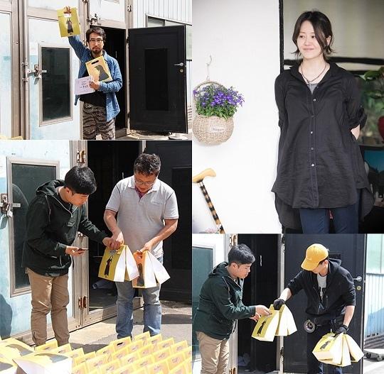 高賢廷自掏腰包 向 「我親愛的朋友們」製作組送上首播應援禮物