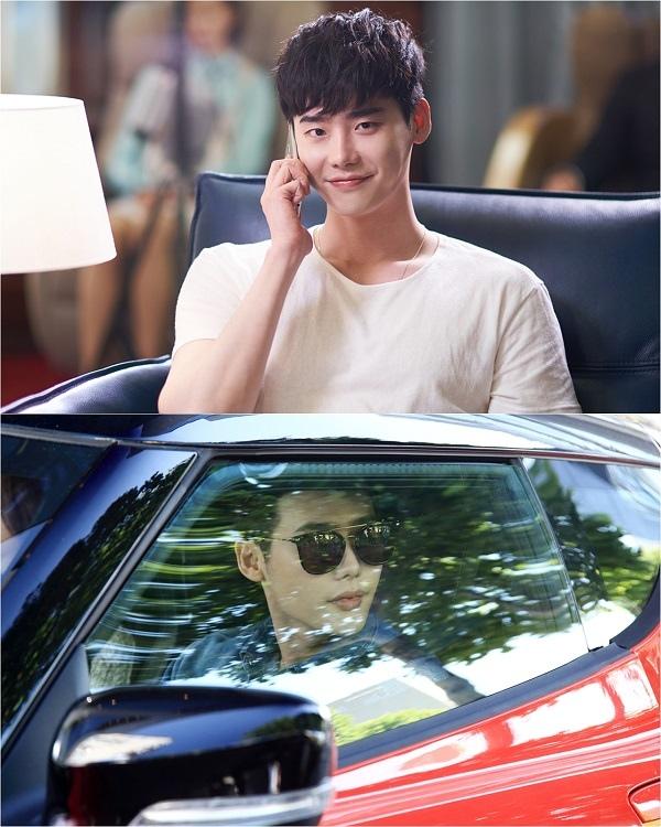 新劇《W》首發劇照 李鍾碩變身超級富豪