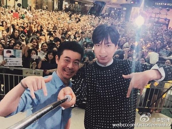 李敏鎬現身成都蘇州兩地 SNS曬與導演自拍照