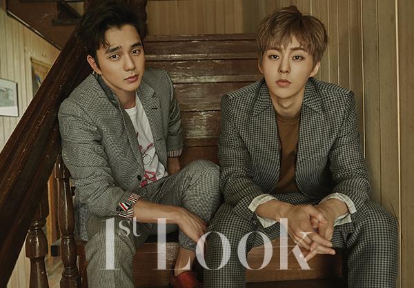 俞承豪&男團EXO成員XIUMIN_1st LOOK_201607_8