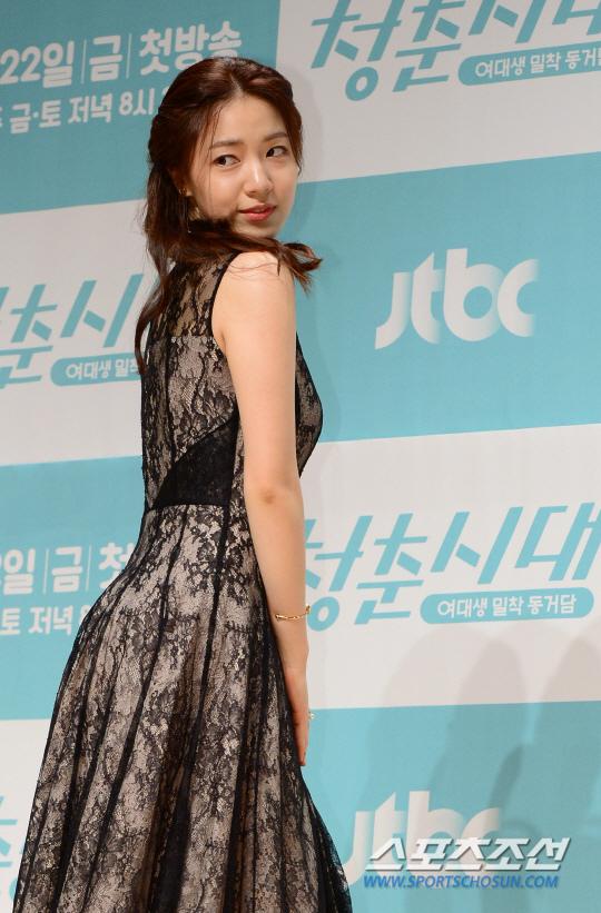 《青春時代》製作發表會 眾主演亮相甜美吸睛_柳和榮_4