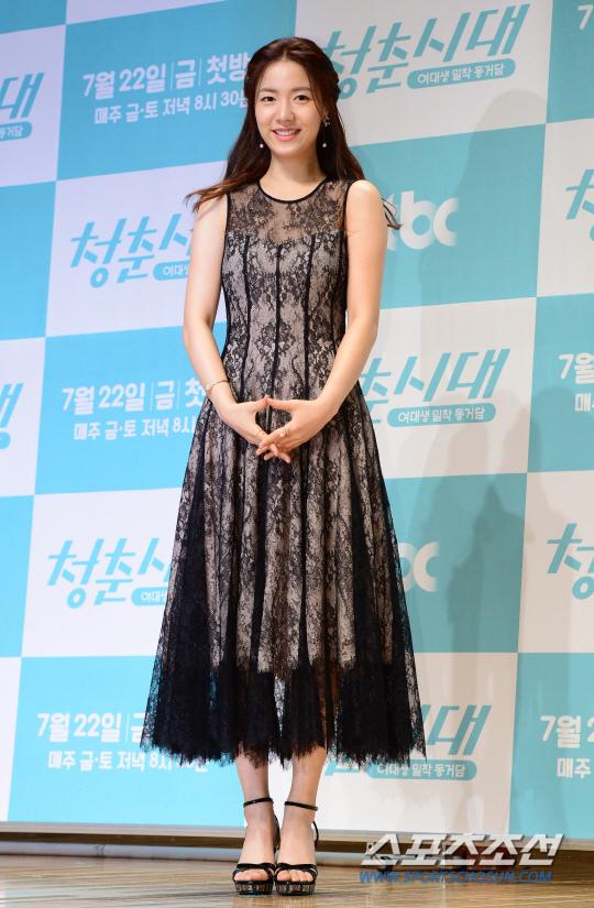 《青春時代》製作發表會 眾主演亮相甜美吸睛_柳和榮_1