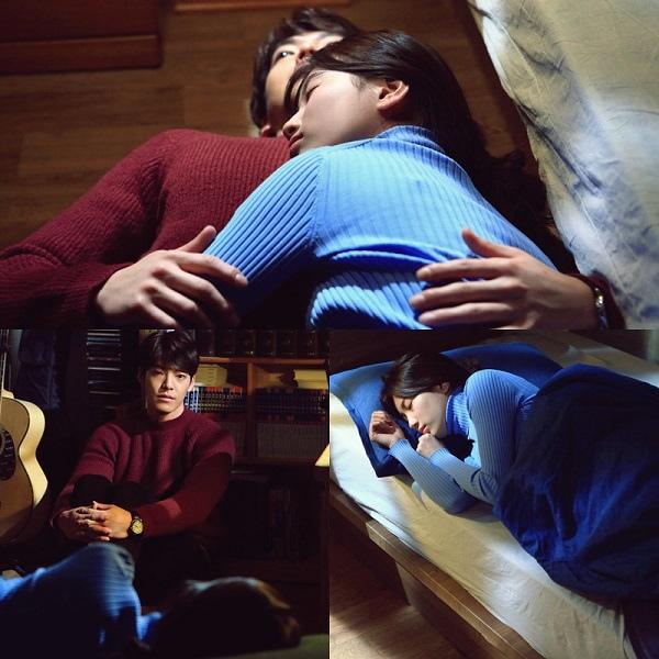《任意依戀》最新劇照發布 金宇彬秀智相擁入眠