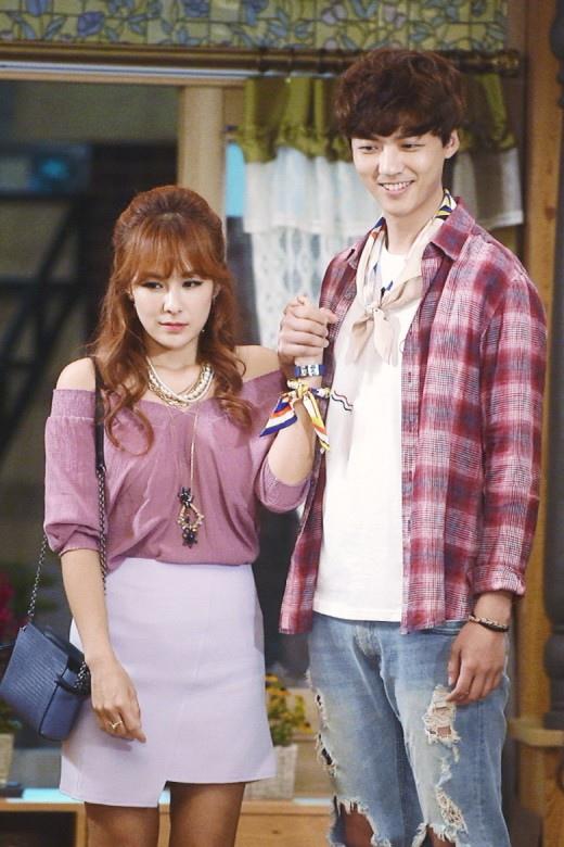蔡妍友情客串《吹吧,微風啊》 變身中年離婚女