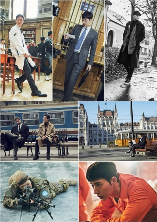 《MAN X MAN》發布新劇照 朴海鎮演繹多重形象