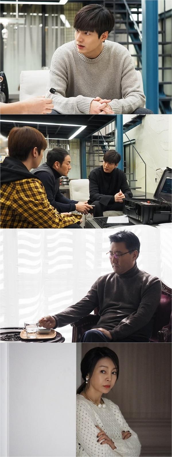《藍海傳說》發布第17集劇照 李敏鎬決意救出父親