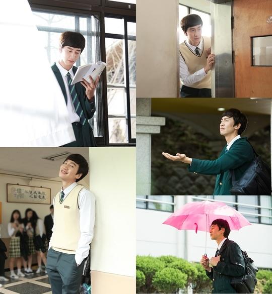 李光洙《心裡的聲音》片場照公開 完美變身高中生「趙石」