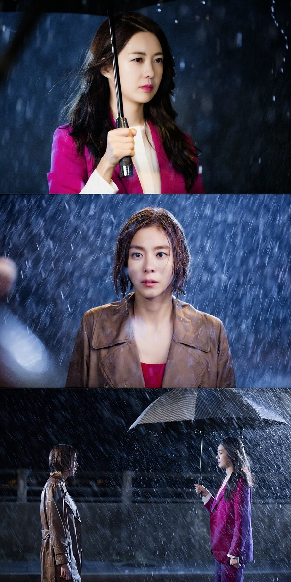 《不夜城》李枖原U-IE劇照 冷雨夜面對面