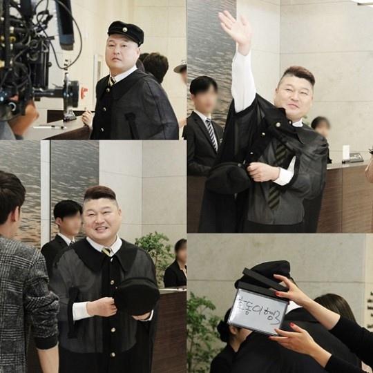 姜虎東客串《老婆出牆》 變身新人演員