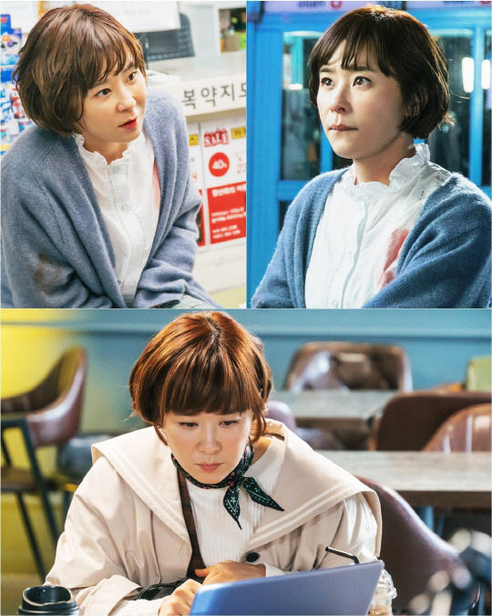 崔江姬結束新劇首次拍攝 完美變身「推理女王」