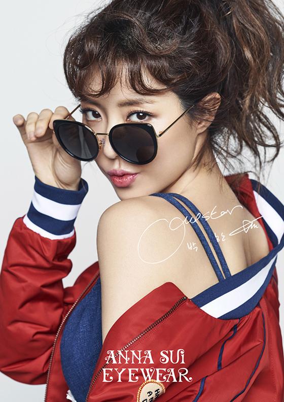朴韓星代言ANNA SUI EYEWEAR_2017_1