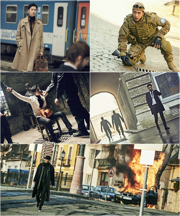 《MAN X MAN》發布朴海鎮預告片 形象多變魅力爆表