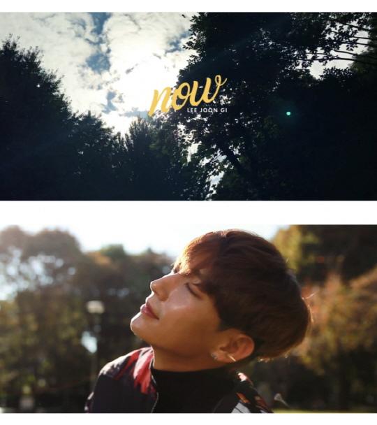 李準基回饋粉絲厚愛 V LIVE公開新曲《NOW》MV