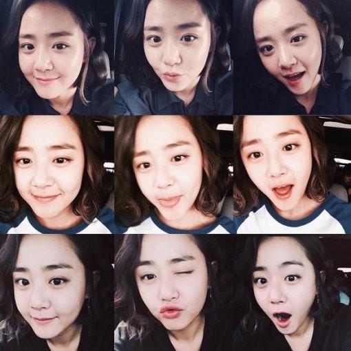 文瑾瑩SNS曬美照 表情多變超可愛