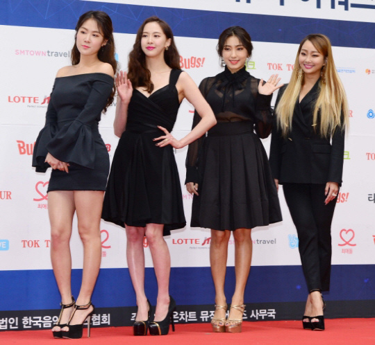 夏日女團將解散 Sistar成員發親筆信謝粉絲