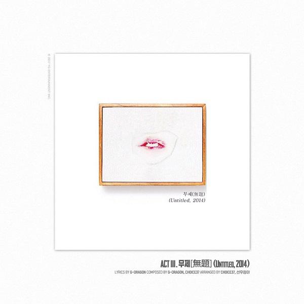 G-Dragon今日發新專輯《權志龍》 收錄5首歌曲_4