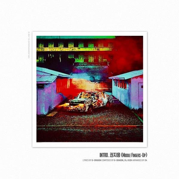 G-Dragon今日發新專輯《權志龍》 收錄5首歌曲