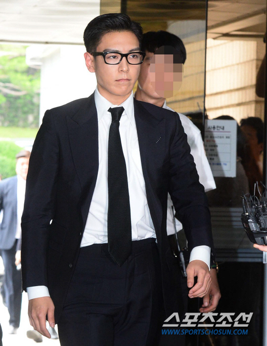 T.O.P出席審判 遭判刑10個月緩刑2年