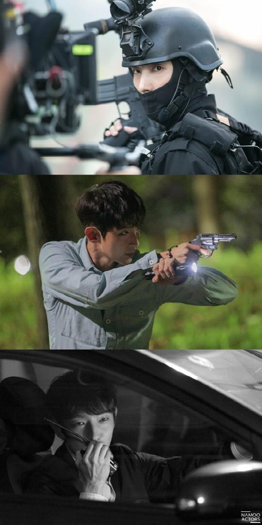 經紀公司公開李準基新劇照 帥氣現身犯罪現場