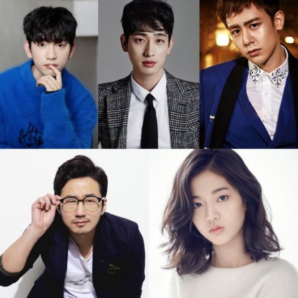 JYP Pictures推網劇《魔術學校》 朴珍榮尹博Nichkhun等出演