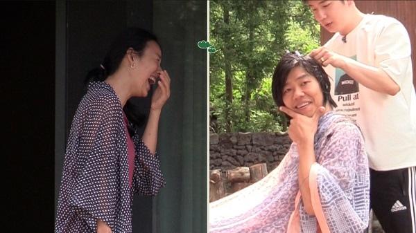 《孝利家民宿》公開預告照 李老闆理髮換造型