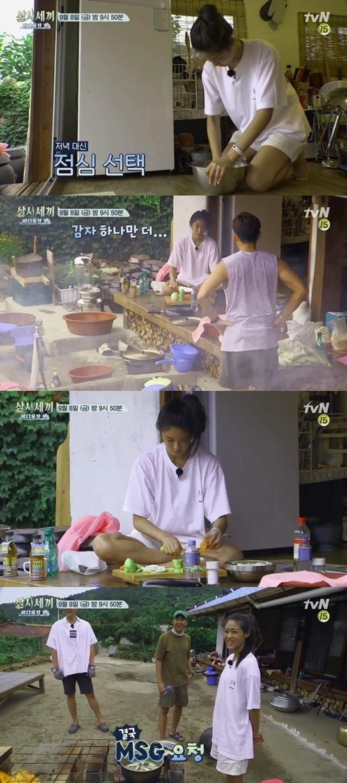雪炫出演《三時三餐》 為三兄弟做美食