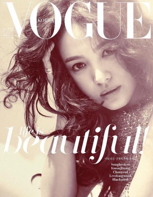 宋慧喬雜誌採訪談幸福:享受每個瞬間