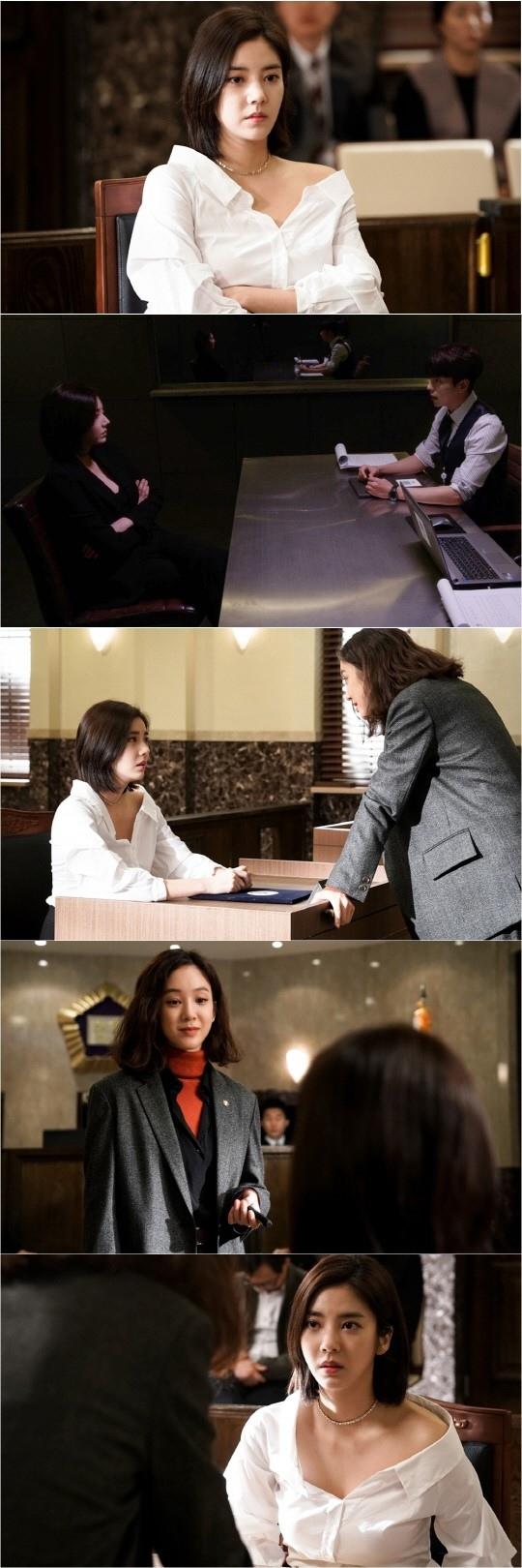 孫淡妃客串《魔女的法庭》 助陣好友鄭麗媛