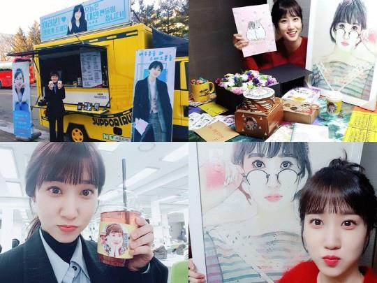 朴恩斌粉絲犒勞《理判事判》 為片場送咖啡車