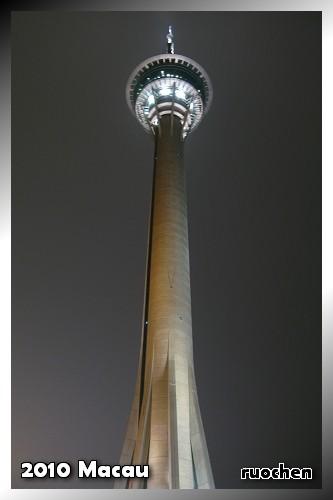 旅遊塔夜景