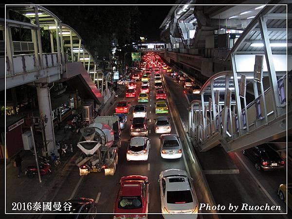 塞車的曼谷街頭
