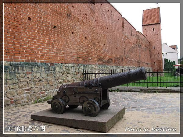 火藥塔城牆