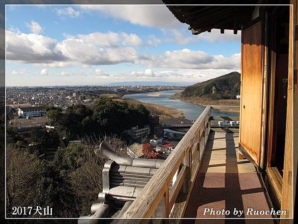 犬山城外景色