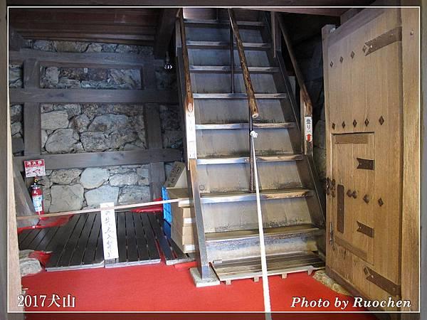 犬山城  好陡的樓梯