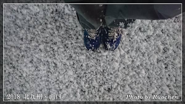 人行道已積雪