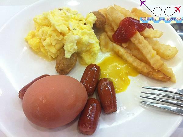 丹陽大明渡假村的早餐