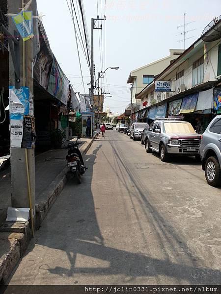 泰國曼谷-美功鐵道市集