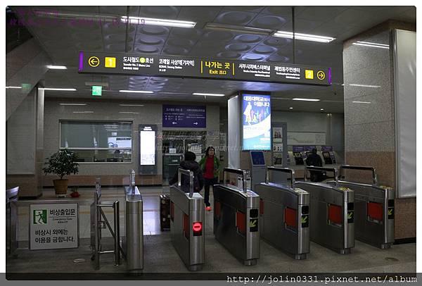 韓國釡山金海機場快線沙上站