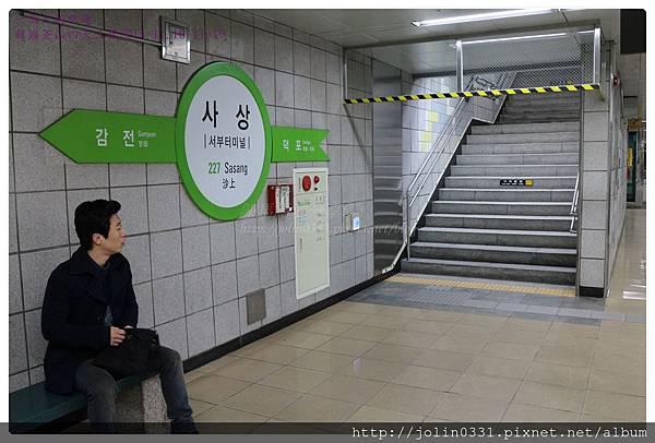 韓國釡山金海地鐵2號綠線沙上站