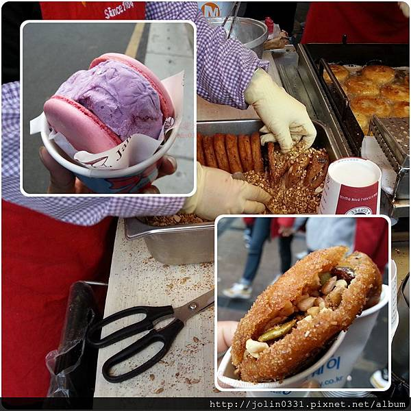 超大馬卡龍冰淇淋&李昇基愛的黑糖餡餅