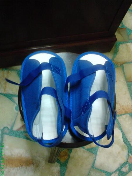 傳說中的藍色涼鞋