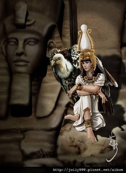 埃及禿鷹女神--奈克貝特Nekhbet